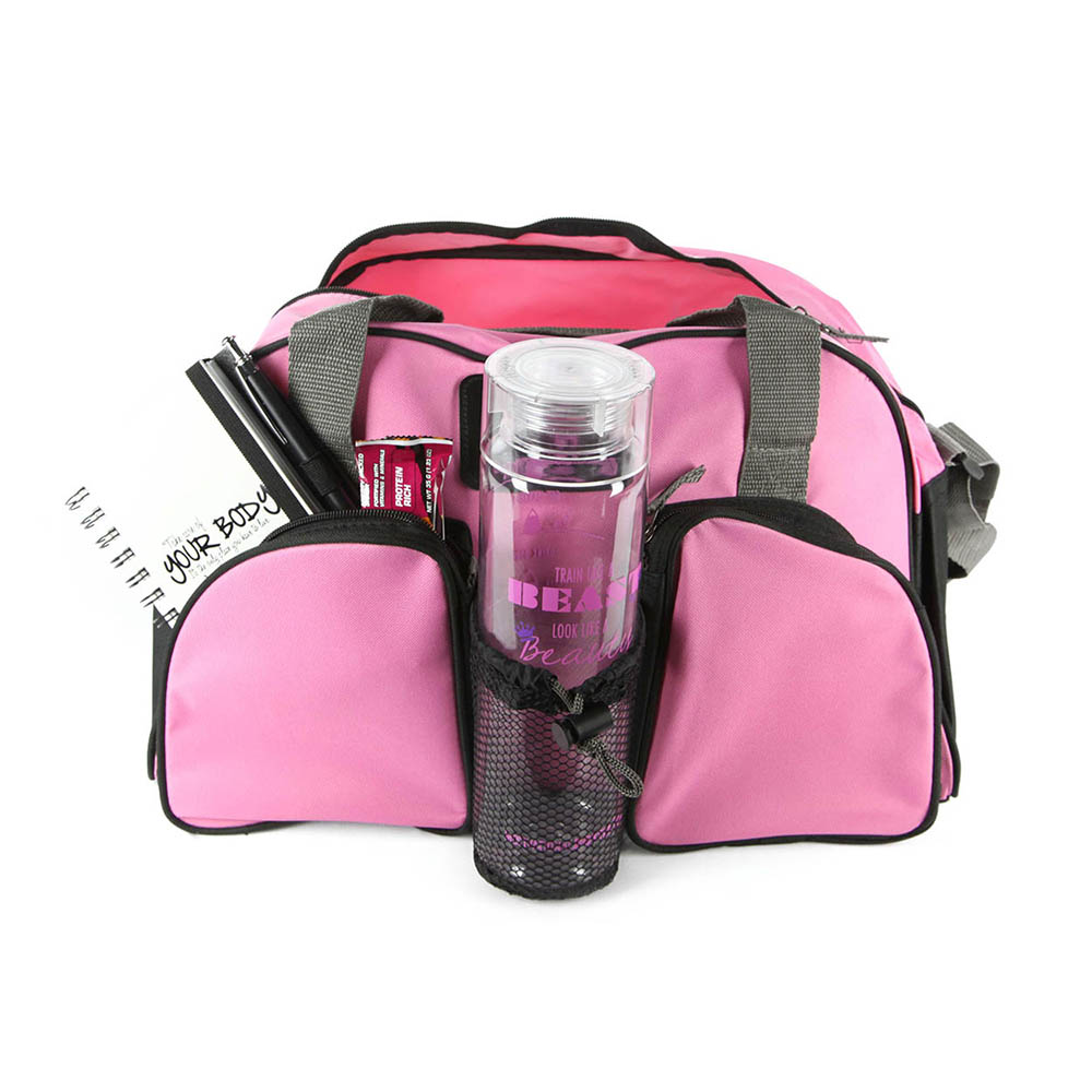 f4ca546596 Pink Motivational Gym Bag® - Motivational Bottle
